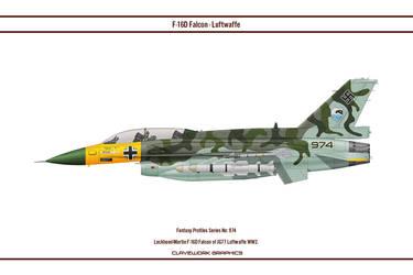 Fantasy 974 F-16D JG77 by WS-Clave