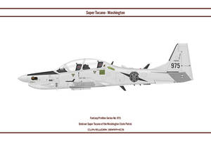 Fantasy 975 Tucano Washington State Patrol by WS-Clave