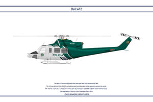 Bell 412 Colombia 2 by WS-Clave