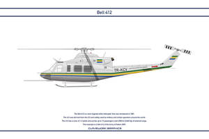 Bell 412 Gabon 1 by WS-Clave