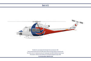 Bell 412 Japan 1 by WS-Clave