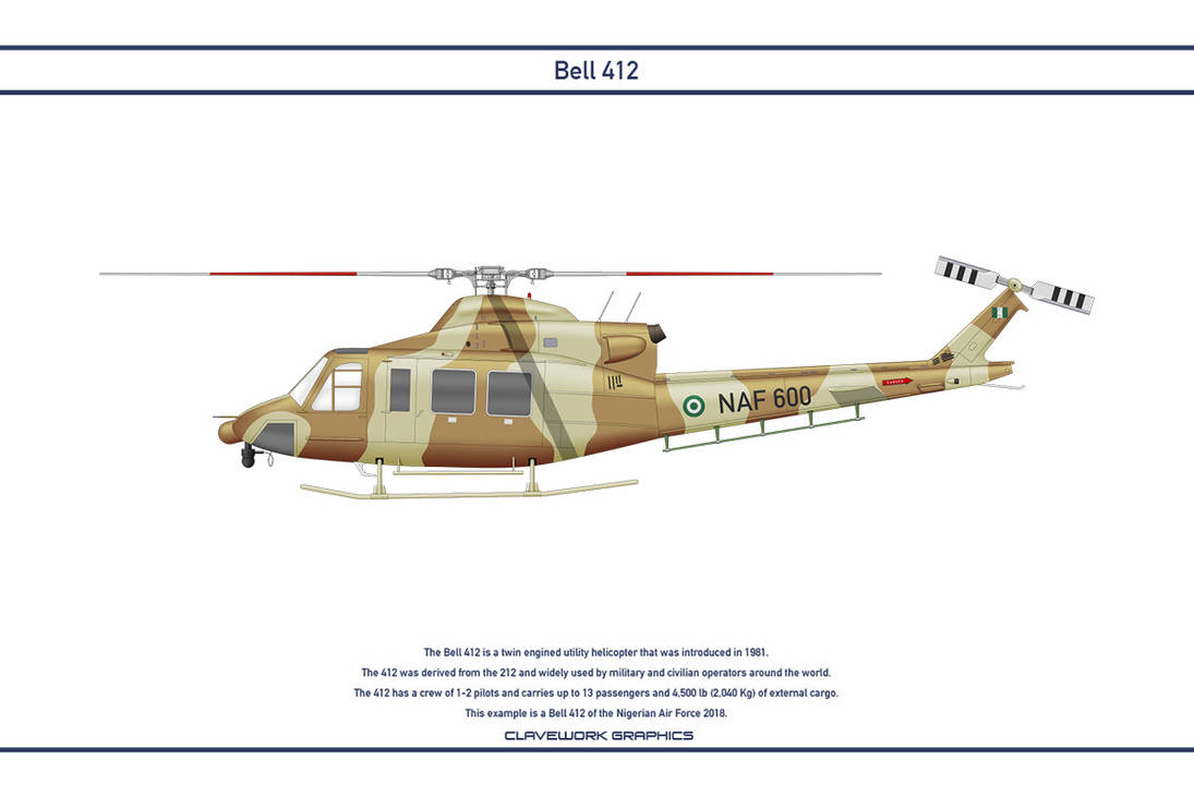 Bell 412 Nigeria 1 by WS-Clave