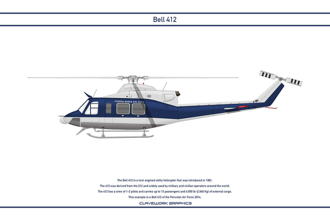Bell 412 Peru 1 by WS-Clave