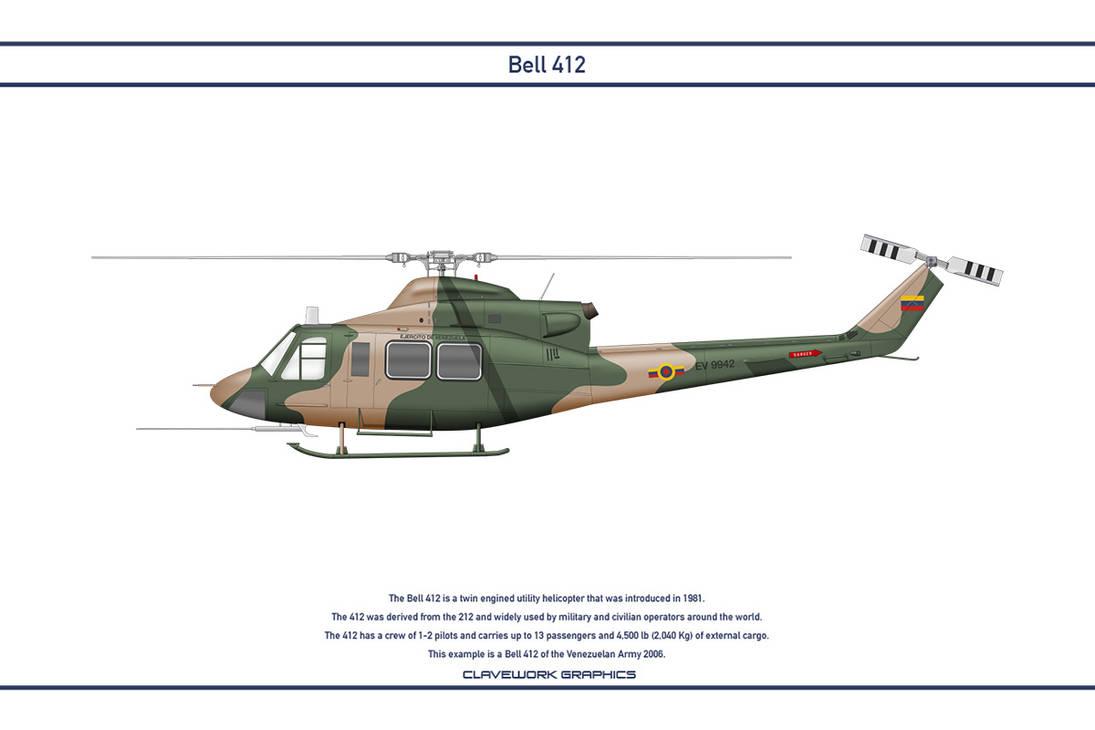 Bell 412 Venezuela 1 by WS-Clave