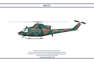 Bell 412 Zimbabwe 1 by WS-Clave