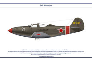 Airacobra USSR 72nd Guards Fighter Regiment by WS-Clave