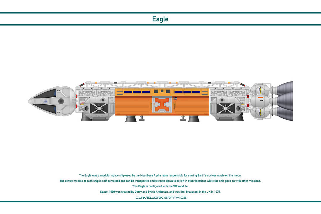 Space 1999 - Eagle 5 by WS-Clave