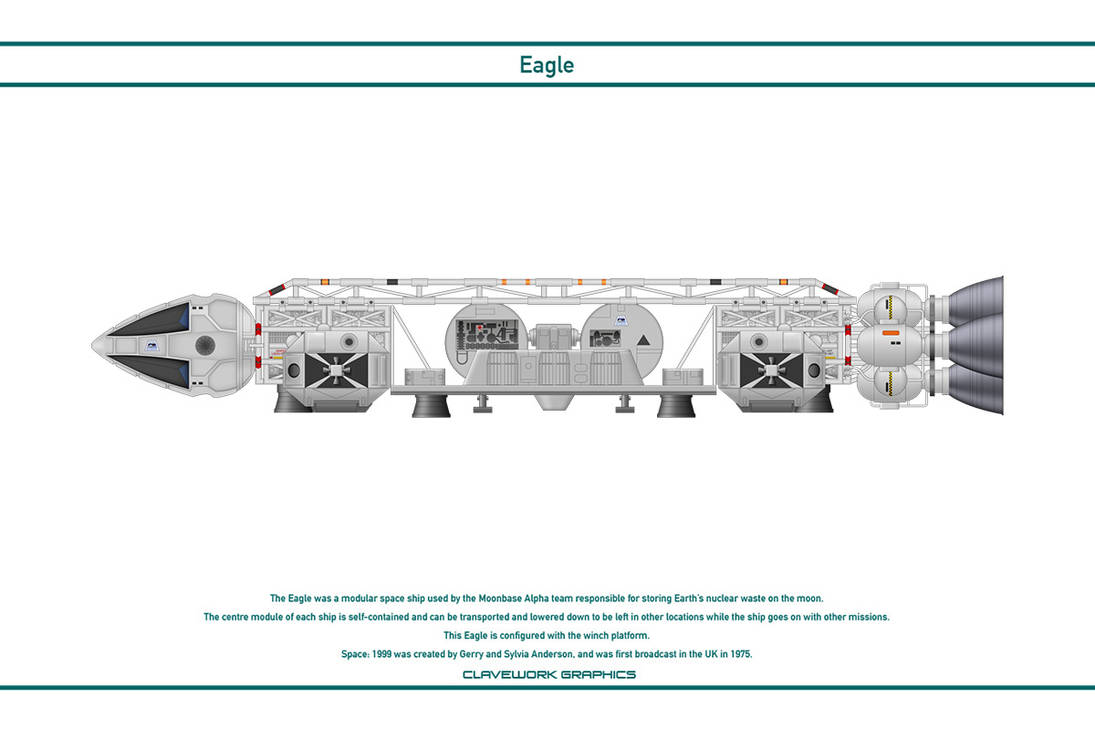 Space 1999 - Eagle 6 by WS-Clave