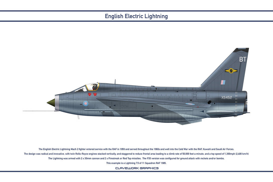 Lightning GB 11 Squadron 4 by WS-Clave