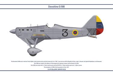 D.500 Venezuela 1 by WS-Clave
