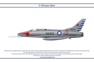 Super Sabre China 17 Squadron by WS-Clave