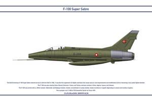 Super Sabre Denmark 730 Esk 1