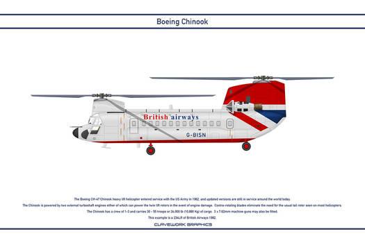 Chinook British Airways