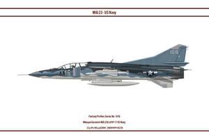 Fantasy 1016 MiG-23 US Navy