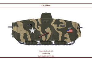 Fantasy  1017 A7V US Army