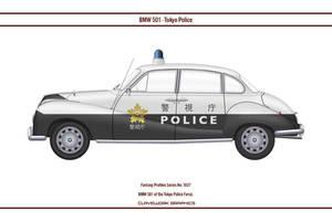 Fantasy 1027 BMW 501 Tokyo Police