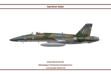 Fantasy 1032 F/A-18E Quebec