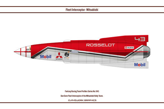 FR043 Fleet Interceptor Mitsubishi