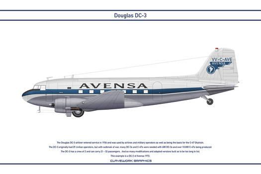 DC-3 Avensa 1