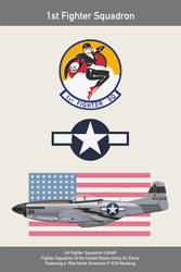 USAF 1st Fighter Squadron Part 1