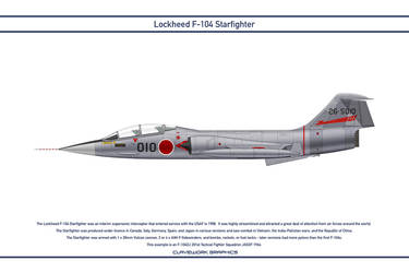 Starfighter Japan 201st Tactical Fighter Squadron