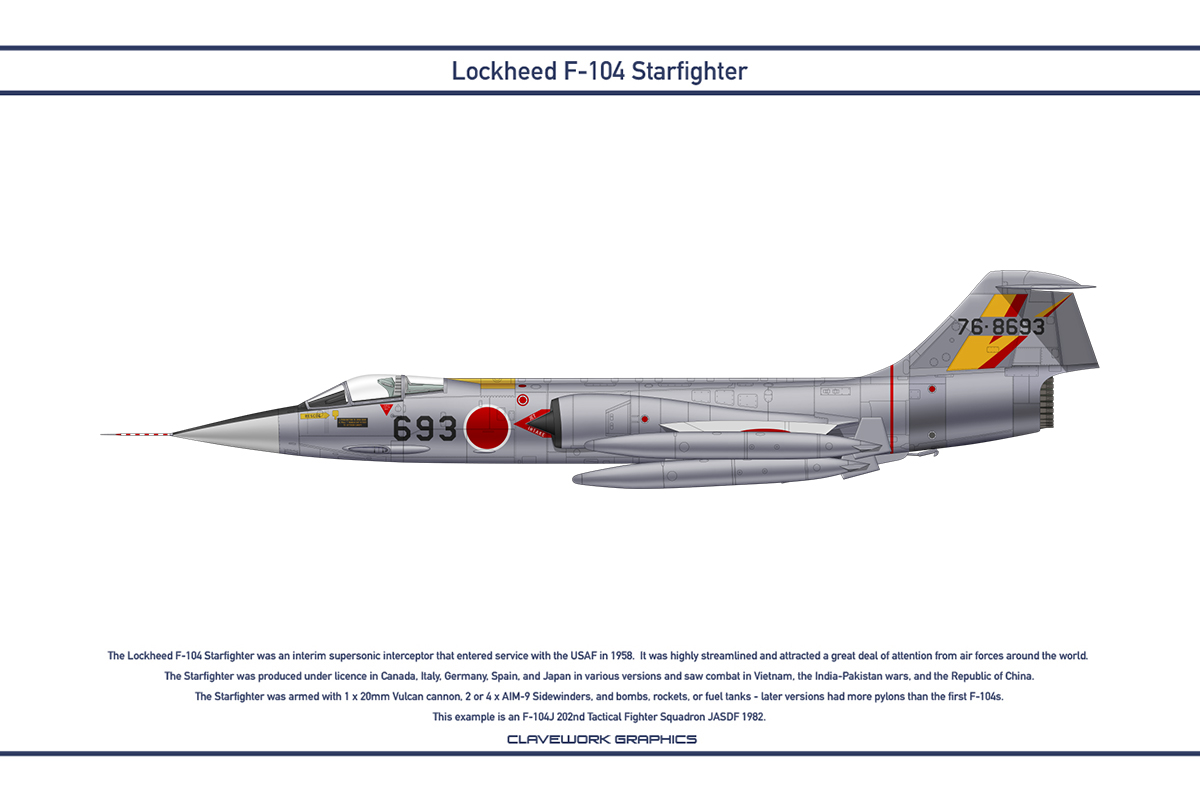 Starfighter Japan 202nd Tactical Fighter Squadron