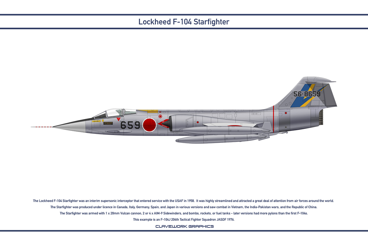 Starfighter Japan 204th Tactical Fighter Squadron