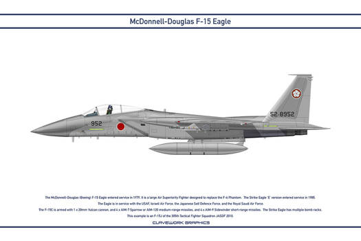 Eagle Japan 305th Tactical Fighter Squadron 1