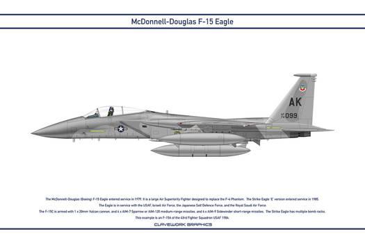Eagle USA 43rd Fighter Squadron 1