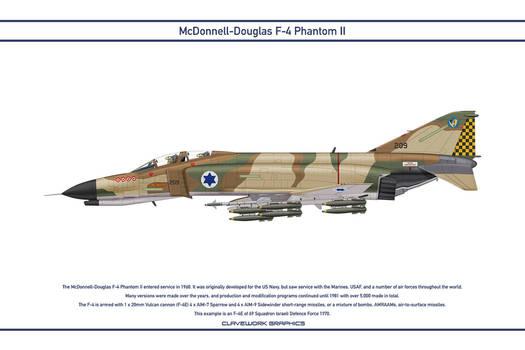 Phantom Israel 69 Squadron 2