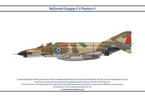 Phantom Israel 201 Squadron 1