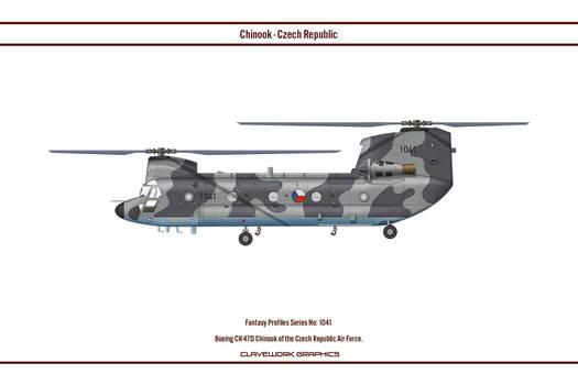 Fantasy 1041 Chinook Czech Republic