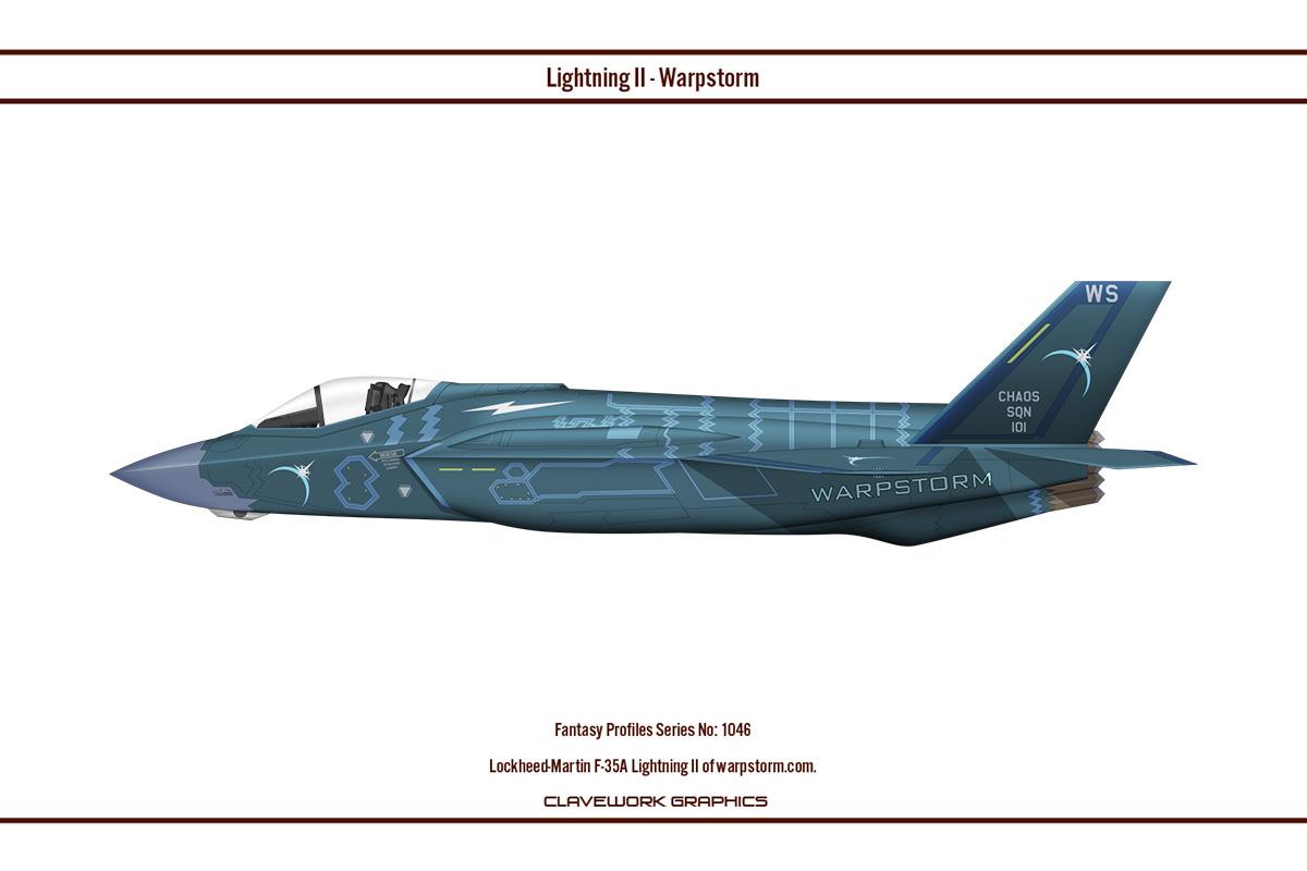 Fantasy 1046 F-35A Warpstorm
