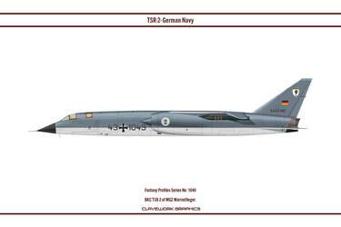 Fantasy 1049 BAC TSR-2 MFG1