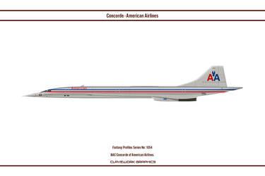 Fantasy 1054 Concorde American Airlines