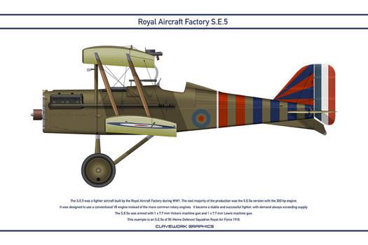 RAF SE5 GB 50 Squadron 1