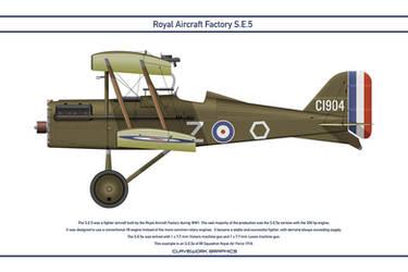 RAF SE5 GB 85 Squadron 1