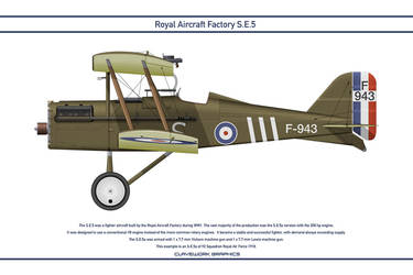 RAF SE5 GB 92 Squadron 1