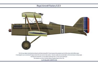 RAF SE5 GB 143 Squadron 1