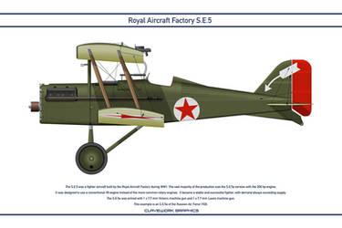 RAF SE5 Russia 1