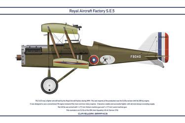 RAF SE5 USA 25th Aero Squadron 1