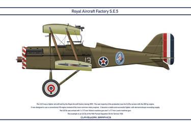 RAF SE5 USA 94th Pursuit Squadron 1