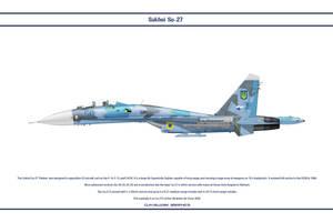 Su-27 Ukraine 1 by WS-Clave