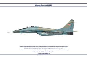 MiG-29A Iran 1 by WS-Clave