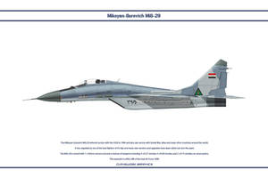 MiG-29 Iraq 1 by WS-Clave