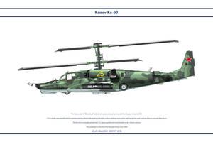 Kamov Ka-50 2 by WS-Clave