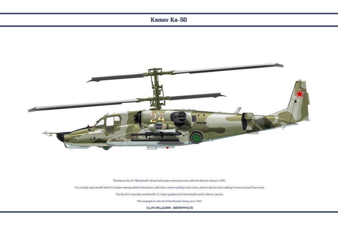 Kamov Ka-50 1 by WS-Clave
