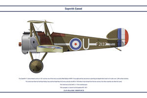 Camel GB 46 Sqn RFC by WS-Clave
