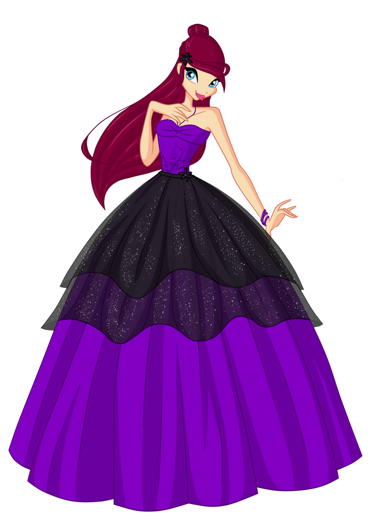 Merula ball gown - contest by Supremechaos918 by GeorgianaEdera on ...