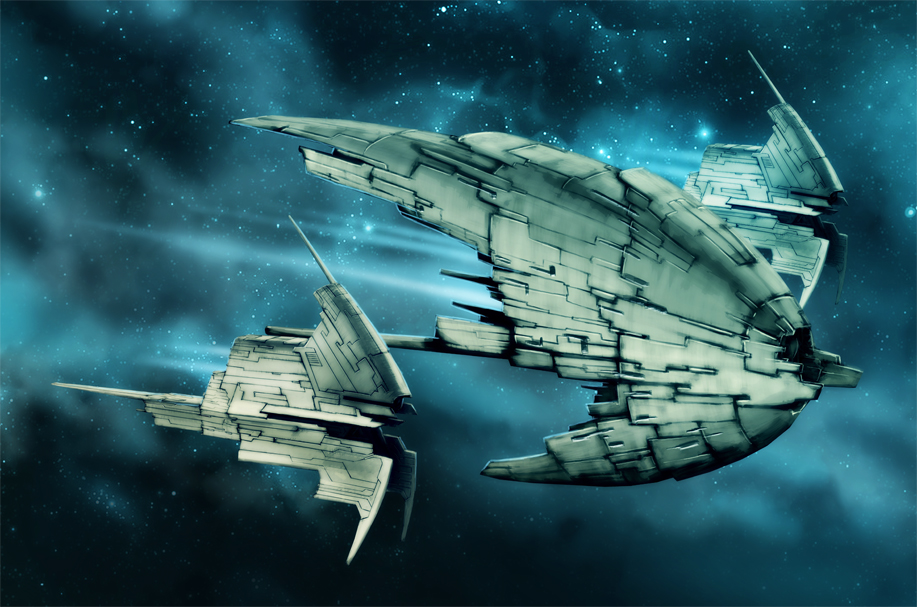 Spaceships 9 by Heliofob on DeviantArt